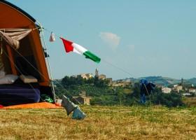 Villa Bussola in Le Marche, Italie kamperen met uitzicht 3 Villa Bussola 40plusteens
