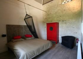 Villa Lafage in de Dordogne, Frankrijk Pigionnier slaapkamer Villa Lafage 40plusteens