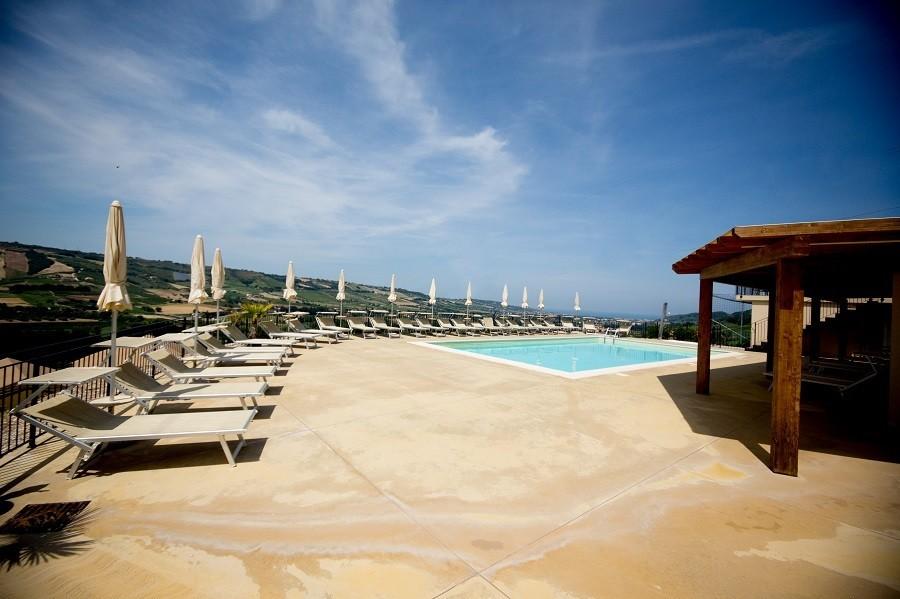 Villa Alwin in Le Marche, Italie zwembad met uitzicht Villa Alwin 40plusteens image gallery