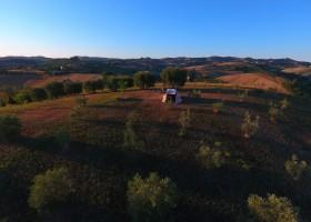 Villa Bussola in Le Marche, Italie overzicht Villa Bussola 40plusteens