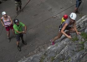 Berghotel Axx in Tirol, Oostenrijk klimmen Berghotel Axx 40plusteens