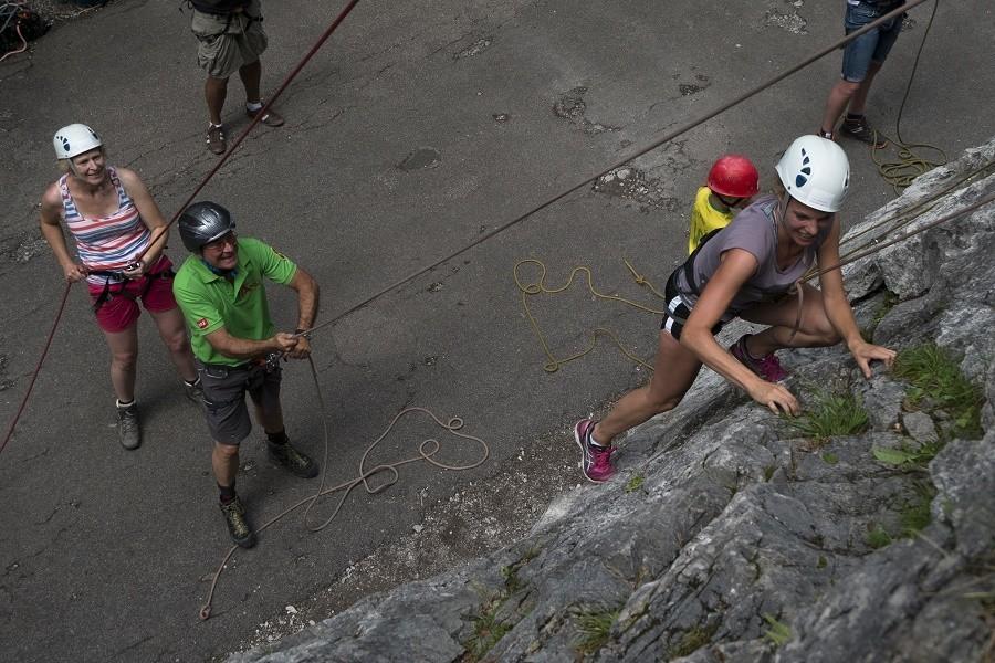 Berghotel Axx in Tirol, Oostenrijk klimmen Berghotel Axx 40plusteens image gallery
