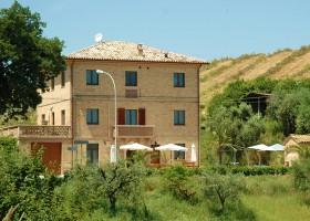 Villa Bussola in Le Marche, Italie het huis Villa Bussola 40plusteens