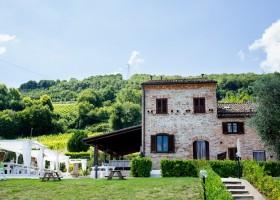 Villa Alwin in Le Marche, Italie huis Villa Alwin 40plusteens