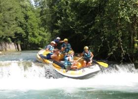 Enotria Travel rafting.jpg Familiereis Actief & Strand Calabrië 40plusteens