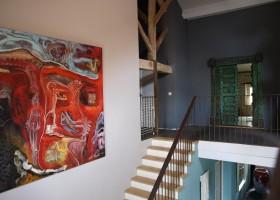 Villa Lafage in de Dordogne, Frankrijk Countryhouse kunstwerken Marthijn de Groot Villa Lafage 40plusteens