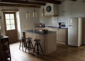 Le Tilleul in Frankrijk - keuken Le Tilleul 40plusteens