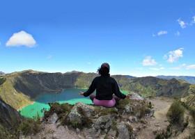 Local Hero Travel rondreis Ecuador quilotoa-vulkaan Ecuador rondreis familie avontuur 40plusteens