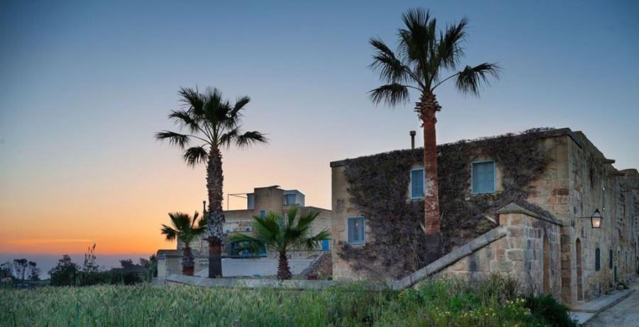 Gozo Farmhouses op Gozo, Malta huis bij zonsondergang Eliza was here 40plusteens image gallery