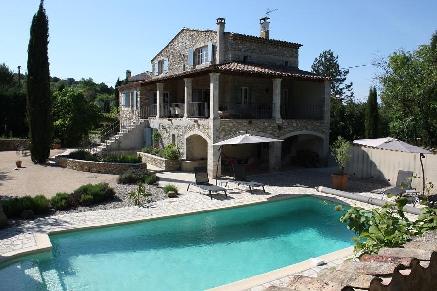 Gite Le Bel Endroit in de Ardeche, Frankrijk huis en zwembad Gîte Le Bel Endroit 40plusteens image gallery
