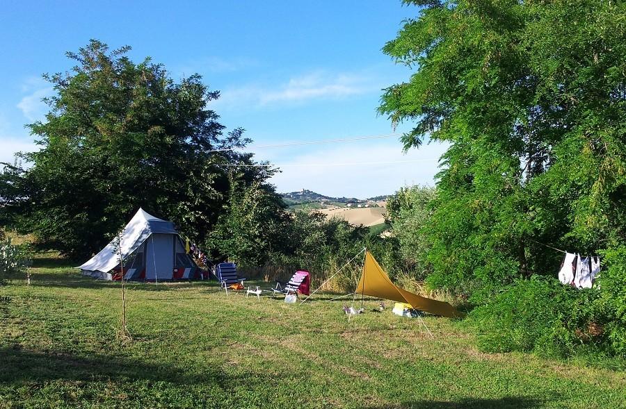 Villa Bussola in Le Marche, Italie kamperen met uitzicht 2 Villa Bussola 40plusteens image gallery
