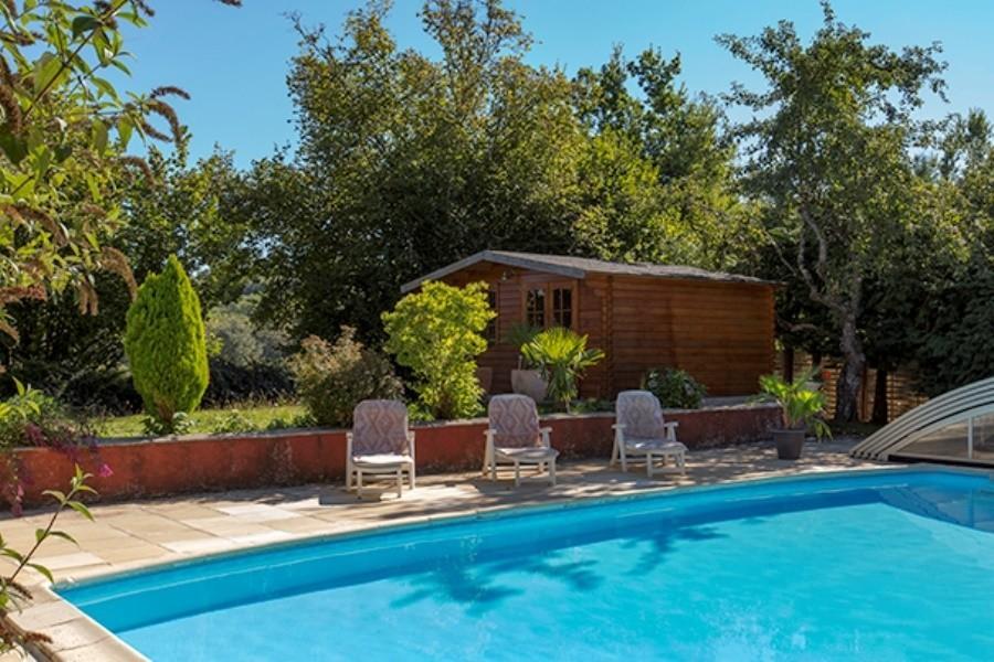 Les Renardieres in de Limousin, Frankrijk zwembad Les Renardières 40plusteens image gallery