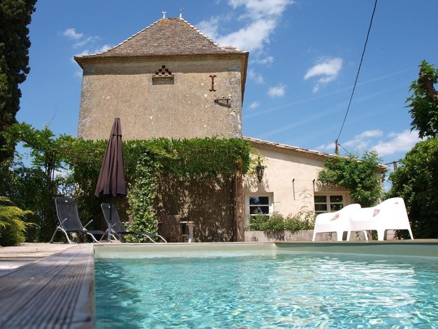 Villa Lafage in de Dordogne, Frankrijk Pigionnier met zwembad Villa Lafage 40plusteens image gallery