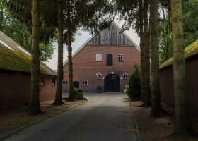 Landrijk De Reesprong in Twente, Nederland boerderij Landrijk de Reesprong 40plusteens