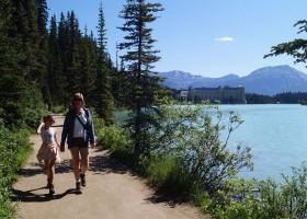 Travelnauts West-Canada - Lake Louise 2 x Familiereis door het ruige westen van Canada 40plusteens