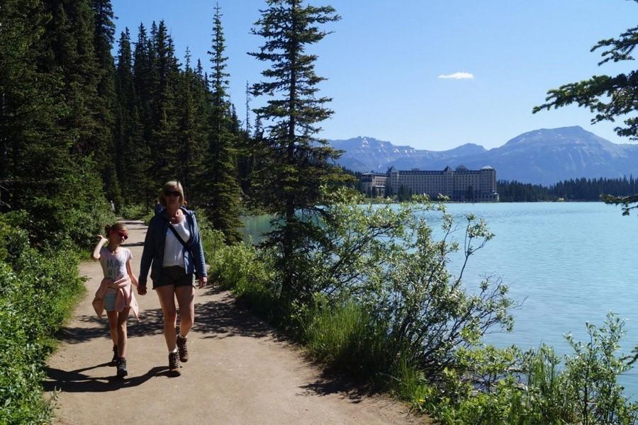 Travelnauts West-Canada - Lake Louise 2 x Familiereis door het ruige westen van Canada 40plusteens image gallery