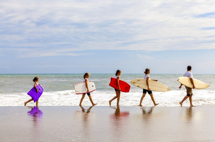 ViNEA Family surfen strand