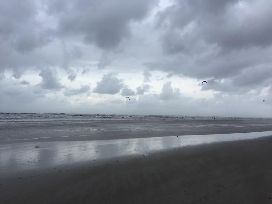 Weekendje weg met tieners Schiermonnikoog kitesurfen