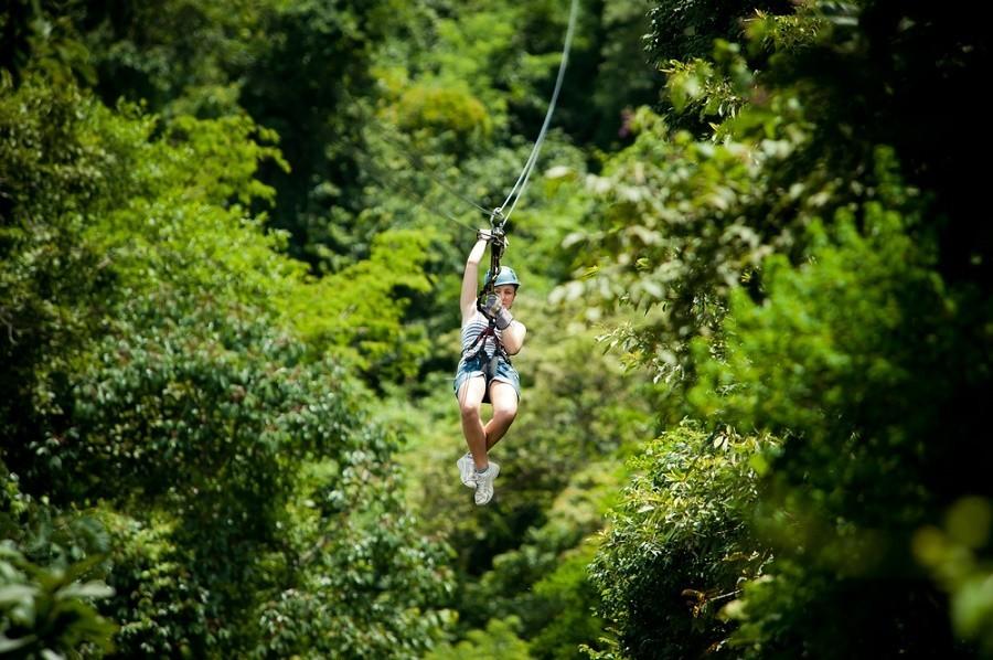costa-rica-familierondreis-ziplining