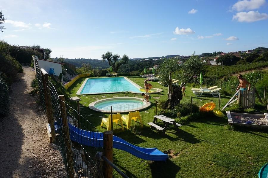 Quinta Laranja zwembaden met uitzicht