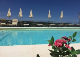Villa Alwin in Le Marche, Italie zwembad Villa Alwin 40plusteens